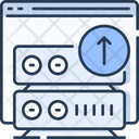 Web server upload Icon