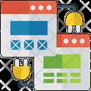 Web Hosting Web Services Web Development Icon