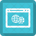 Earth Setting Webpage Icon