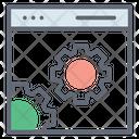 Web Setting Web Configuration Web Management Icon
