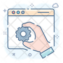 Web Setting Web Configuration Web Maintenance Icon