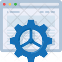 Web Settings Development Icon