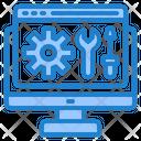 Web Setting Setting Mangement Icon