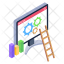 Web Setting Web Advancement Web Configuration Icon