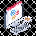 Web Advancement Web Configuration Web Development Icon