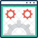Web Setting Icon