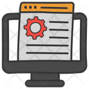 Seo Technology Search Engine Optimization Web Design Icon