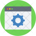 Web Settings Cogs Icon