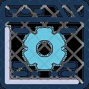 Web Settings Gear Website Icon
