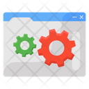 Web Setting Web Configuration Web Preferences Icon