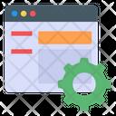 Web Customization Web Settings Web Preferences Icon