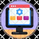 Web Settings Web Maintenance Website Repair Icon