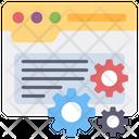 Web Settings Web Configuration Web Management Icon
