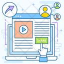 Web Share Web Transfer Web Content Icon