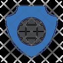 Web Shield Web Security Shield Icon