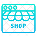 Web Website Online Shopping Icon