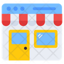 Web Shop Shopping Website Online Store Icon