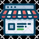 Web, Shop Icon