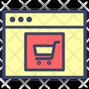 Webshopping Cart Shopping Icon