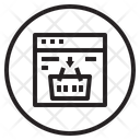 Web Shopping Web Computer Icon