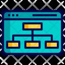 Ilayout Web Sitemap Layout Icon