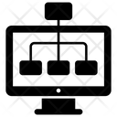 Algorithm Workflow Web Scheme Icon