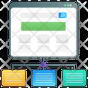 Web Sitemap Algorithm Sitemap Icon