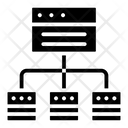 Web Sitemap Web Architecture Web Algorithm Icon