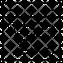 Web Sitemap Web Hierarchy Web Algorithm Icon