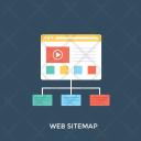 Sitemap Website Plan Icon