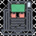 Web Sketch Icon