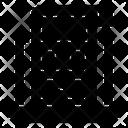Web Blueprint Drafting Web Sketch Icon