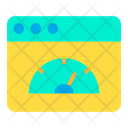 Speed Meter Page Speed Icon