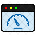 Web Speed Speed Speedometer Icon