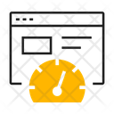 Speed Web Speed Meter Icon