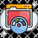 Web Speed Web Speed Test Icon
