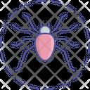 Deadly Spider Scary Spider Halloween Spider Icon