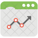 Web Statistics Traffic Icon