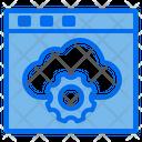 Web Storage Optimization Icon