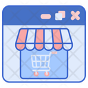 Web Store Online Store Ecommerse Icon
