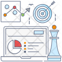 Strategic Management Business Management Business Strategy Icon