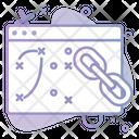 Link Url Seo Icon