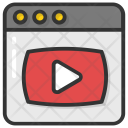 Web Streaming Icon