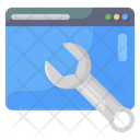 Web Repair Web Maintenance Webpage Repair Icon