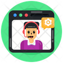 Web Technical Support Icon