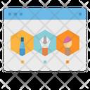 Web Design Art Icon
