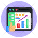 Web Ranking Web Rating Web Top Ranking Icon