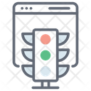 Web Traffic Icon