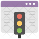 Web Traffic Icon