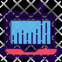 Web Traffic Growth Icon